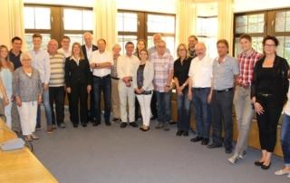 Der Startschuss für die Umsetzung neuer Projekte ist erfolgt: Projektträger stellten dem erweiterten Vorstand des Regionalvereins im Rahmen der letzten Vorstandssitzung ihre Projekte vor