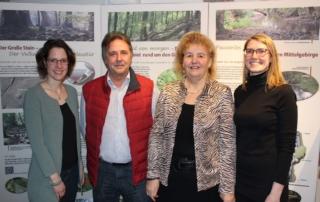 v. l.: Stefanie Schmidt, Günter Richter, Roswitha Still, Annika Wolf